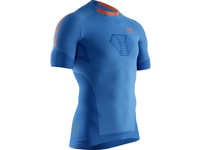 X-Bionic Invent 4.0 Run Speed Koszulka z krótkim rękawem Mężczyźni, teal blue/kurkuma orange